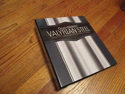 Game of Thrones Valyrian Steel Special Edition Mini-Master Set w/ Binder & Auto