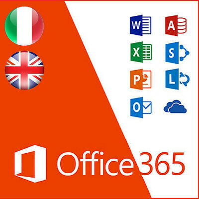 Microsoft Office 365/2019 - 32/64bit - Lifetime 5 devices + 5TB onedrive ESD