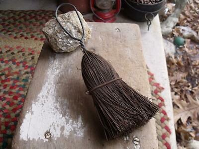 Primitive Antique Tin Wire Wisk Broom Whisk Broom GREAT Patina Farm Auction Find