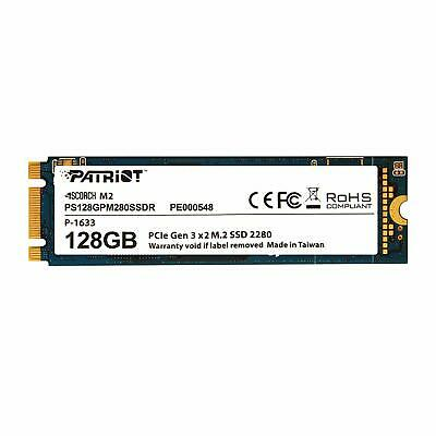 Patriot SSD 128GB SCORCH M.2 2280 PCIe Gen.3 x 4 (NVMe 1.2) up to<Japan import>