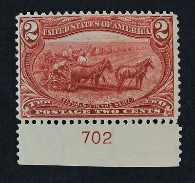 CKStamps: US Stamps Collection Scott#286 2c Mint H OG