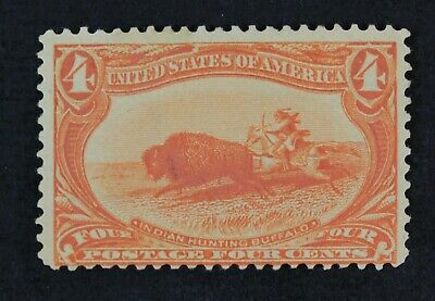 CKStamps: US Stamps Collection Scott#287 4c Mint H OG CV$110
