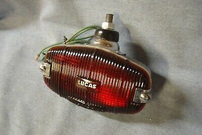Lucas Model L494 Fog Lamp Jaguar Xk 120 Xk 140 Mg T Series Sunbeam