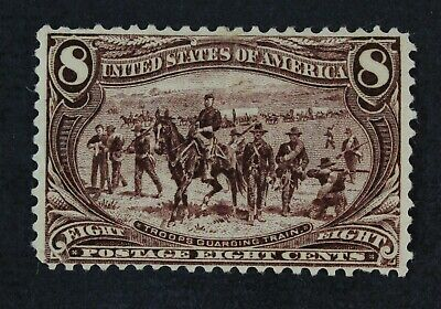 CKStamps: US Stamps Collection Scott#289 8c Mint H OG Gum Disturb CV$150