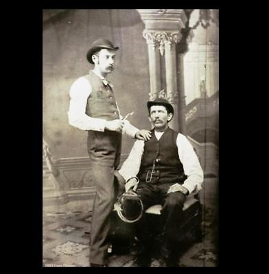 1872 Doc Holliday Dentist PHOTO Wild West Marshal,Wyatt Earp Pal TOMBSTONE
