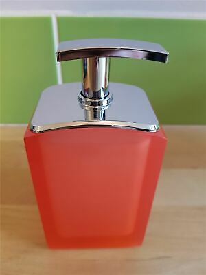 Gedy Orange Liquid Soap Pump Dispenser g-antares