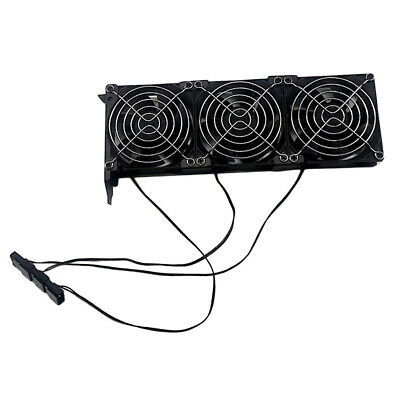 PCIe 3-Fan GPU Cooler Computer Chassis Case Graphics Card Cooling Fans 90mm