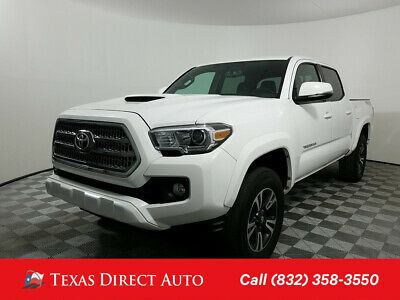 2016 Toyota Tacoma 4x4 TRD Sport 4dr Double Cab 5.0 ft SB 6A Texas Direct Auto 2016 4x4 TRD Sport 4dr Double Cab 5.0 ft SB 6A Used 3.5L V6
