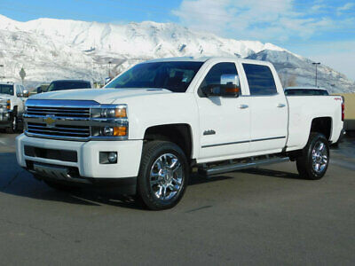 2016 Chevrolet Silverado 2500HD HIGH COUNTRY CHEVY CREW CAB HIGH COUNTRY 4X4 DURAMAX DIESEL LEATHER NAVIGATION SUNROOF AUTO