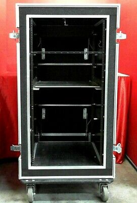 OSP Rackmount Case AT415823986 Space AMP Flight Rack Road Case