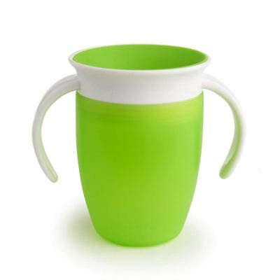 Munchkin MIRACLE 360 TRAINER CUP 207ML GREEN Baby Feeding - NEW