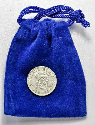 LUCKY 1919 WEDDING SILVER SIXPENCE - 100th ANNIVERSARY  ++ FOR 2019 WEDDING!! ++