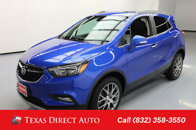 2018 Buick Encore Sport Touring Texas Direct Auto 2018 Sport Touring Used Turbo 1.4L I4 16V Automatic FWD SUV
