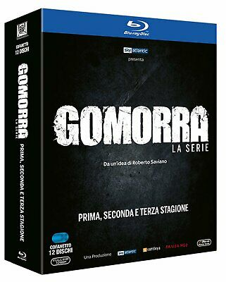 Gomorra - La Serie - St.1-2-3 Blu-Ray - totalmente in italiano