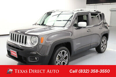 2017 Jeep Renegade Limited Texas Direct Auto 2017 Limited Used 2.4L I4 16V Automatic 4WD SUV
