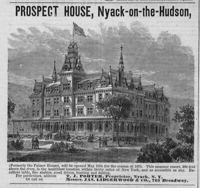 Prospect House Nyack On The Hudson Summer Resort Healthiest Location In 30 Miles