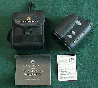 Leupold RX-III Rangefinder Waterproof 1200 Yard 8x28 in Case