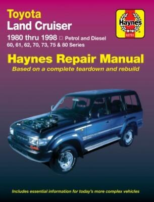 Haynes Workshop Manual Toyota Land Cruiser 1980-1998  Service & Repair
