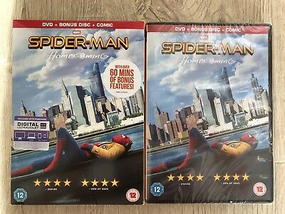Spider-Man Homecoming DVD - New and Sealed Free Delivery