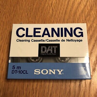 SONY DAT CLEANING TAPE cassette 5m DT-10CL SONY