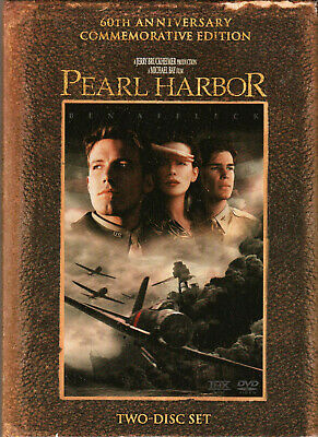 PEARL HARBOR The MOVIE on a DVD of US Military HISTORY in WW2 with BEN AFFLECK