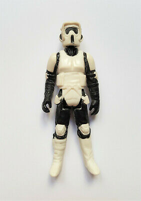 Vintage STAR WARS variant ENDOR BIKER SCOUT MIRO MECCANO Made in Macao COO