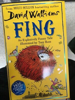 Fing by David Walliams - Brand NEW Hardback Book - Perfect Condition