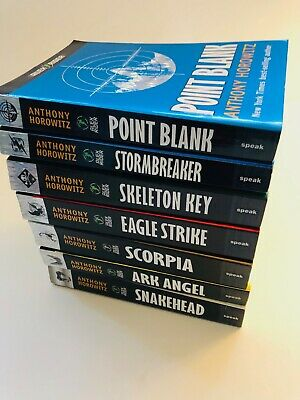 ALEX RIDER Series 1-7 (7 books) Young Adult Spy Anthony Horowitz