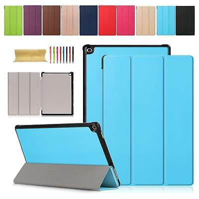 """Shockproof Smart Cover Leather Case for iPad 9.7"""" 5/6th Gen 2018/2017 Auto Sleep"""