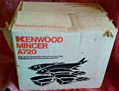 Kenwood Chef  A 720 Meat MIncer Attachment Vintage attachment unused