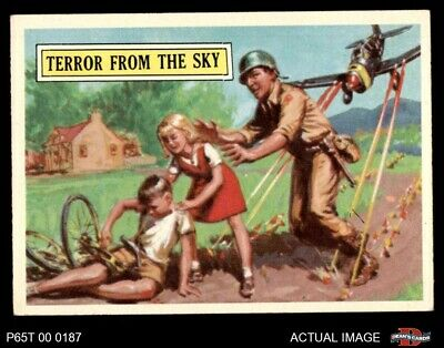 1965 Topps Battle #35 Terror from the Sky  EX