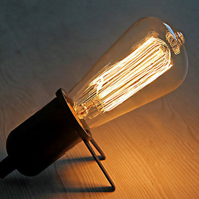 E27 40W/60w 220V/110V Edison Filament Bulb Vintage Retro Antique Industrial Lamp