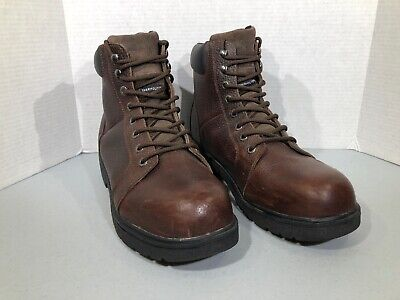 7b01e002c6f WOLVERINE MANAWA MEN'S Size 14 Brown Steel Toe Work Boots Shoes F7-380