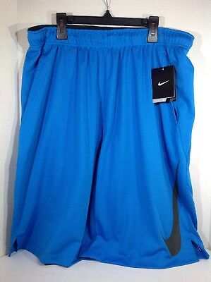 978b3a99053d6 NIKE FLEX DRI-FIT TRAINING SHORTS - Men s XL (927528 Black Gray) NWT ...