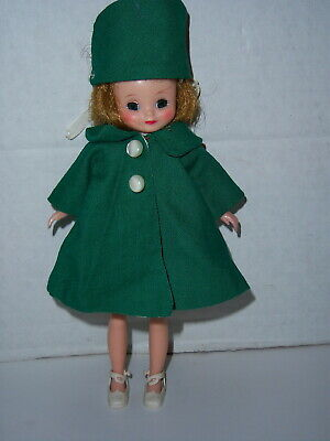 Vintage 1950s Betsy McCall 8 inch tall Doll with Extra Clothes