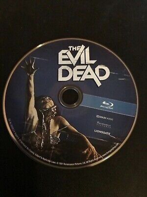 Evil Dead 1981 Blu Ray Disc Only