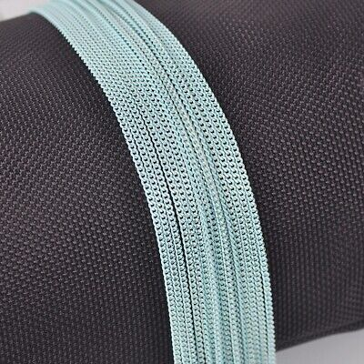 7colors 5meters Light Blue Brass Open Link Metal Chains DIY Jewelry Findings New