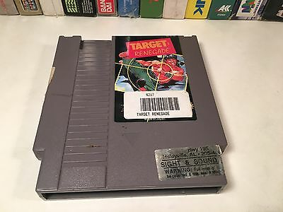 * Target: Renegade Nintendo NES Game Cartridge Vintage Classic Fighting Action
