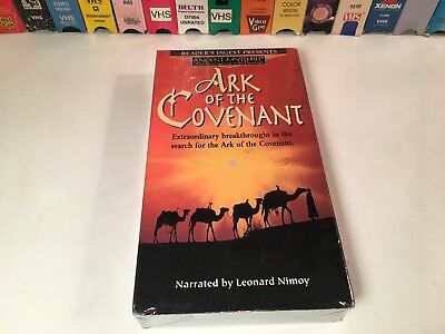 Ark Of The Covenant Sealed Documentary VHS 1994 Leonard Nimoy Ancient Mysteries