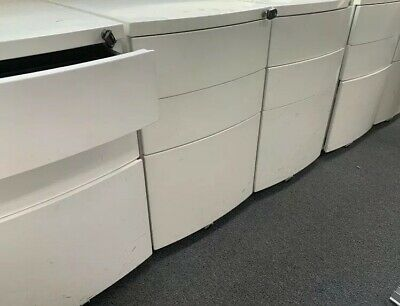 OFFICE STEEL 3 X DRAWER MOBILE PEDESTAL (can Delivery)