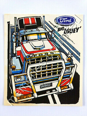 1980 Nabisco Weeties Cereal RUGGED RIGS CARD #6 FORD 'BIG LOUEY'