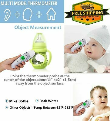 Digital Forehead Ear Thermometer Baby Kids Adult Temperature Infrared Fever Body
