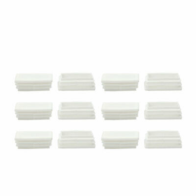 25 x 50mm Tube Inserts End Cover Cap Furniture Chair Desk Feet Floor Protector