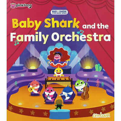 Baby Shark and the Family Orchestra by Centum (Paperback), Children's Books, New