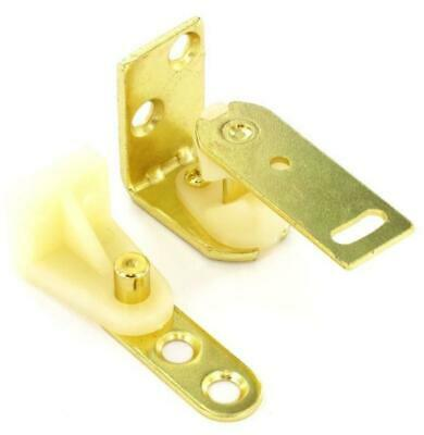 FULL SET of TWO PAIRS of CAFE SWING DOOR HINGES for TWO DOORS, LEFT & RIGHT