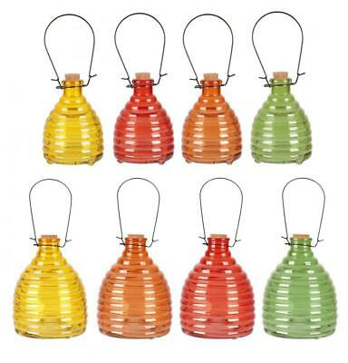 Sunny Days Glass Garden Hanging Poison Free Wasp Insect Fly Trap Catcher
