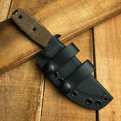 RK Custom Kydex Sheath For Ontario Rat 3 Fixed Knife Scout Carry Choose Color