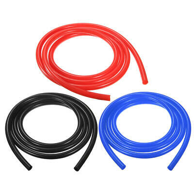 Silicone Vacuum Tube/Breather Hose/Drain 13mm/16mm/19mm (1m-30m) BLACK/BLUE/RED