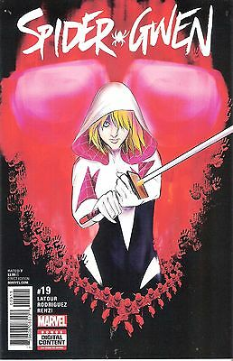 Spider-Gwen Volume 2 Marvel Comic #19 Predators Part 1 Daredevil Wolverine Venom