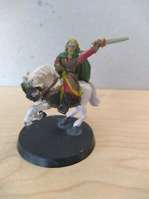 Games Workshop Lord of the rings Metal Theoden unarmoured painted